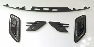Range Rover Sport Carbon Fibre Kit Vents, Wing Vents and Tailgate Trim 2014>on