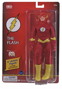 Mego The Flash DC WGSH 8 Inch Action Figure  In Stock Shipping Now!