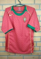Portugal Jersey 2004 2006 Home SMALL Shirt Soccer Football Nike Trikot Maglia