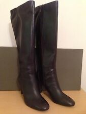 Jones Knee High Boots 100% Leather Upper Shoes for Women