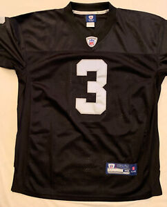 Carson Palmer Oakland Raiders Reebok NFL On Field Stitched Jersey Size 48 Black