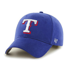 '47 Brand MLB Texas Rangers MVP  Hat Cap -Royal Blue