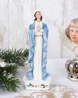 Antik Madonna Brocante Heiligenfigur vintage Figur Heilige Maria Mutter Gottes