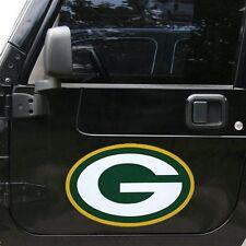 "Green Bay Packers 12"" Logo Car Truck Auto Vinyl Magnet"