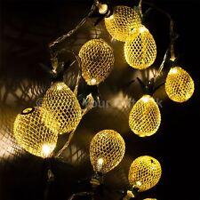 LED De Luces De Hadas Piña oro 90cm largo Cadena De Luces de fiesta de Navidad Fantasía
