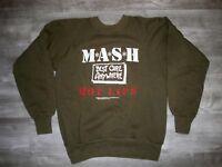 Vintage 1981 Wrangler Mash M*A*S*H* Military Hot Lips Sweatshirt Sweater 38-40