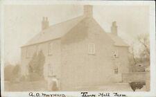 Thorpe, Ampleforth. Thorpe Hall Farm. Arthur Otho Maynard. Posted in York.