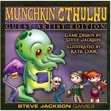 Munchkin Cthulhu Guest Artist Katie Cook Board Card Game Steve Jackson SJG 1516