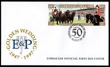 Gibraltar 1997 FDC Golden Wedding of Queen Elizabeth and Prince Philip