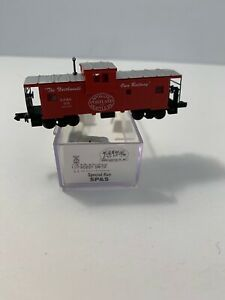 Atlas N Scale Special Run, Lowell Smith SP&S Wide-Vision 34' Caboose