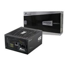 Seasonic principal 650w Fuente de alimentación modular 80 Plus PLATINO