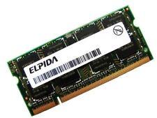 Elpida EBE11UE6AESA-6E-F 1GB DDR2 PC2-5300S CL5 667MHz SODIMM 200 Pin Laptop Ram