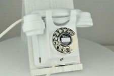 Fully Refurbished & Working Siemens Brothers 366 Wall Phone - White