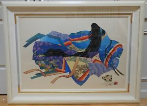 "Hisashi Otsuka ""Lady Murasaki Revisited"" Limited Edition Print #450/1360 COA"