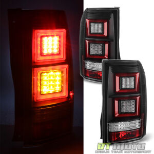 Black 2005-2009 Land Rover Discovery 3 LR3 LED Parking/Signal Tail Lights Lamps