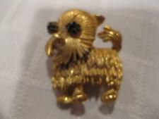 Doggie Pin Broach Mw: Vintage Women'S Gold