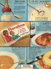 F- Publicité Advertising 1958 La Floraline Rivoire & carret