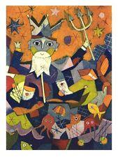 "Gerhard Hofmann, ""verseau"", 1997 zodiaque, Gravure daté"