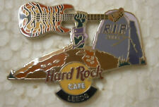 Hard Rock Cafe LEEDS 2003 Tombstone Halloween Pin .