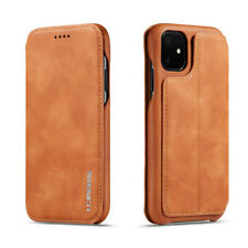 Leather Flip Wallet Case Cover For iPhone 11 Pro Max Magnetic Card Holder Stand