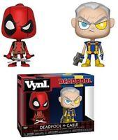 Funko Vynl Marvel Deadpool + Cable Pop Vinyl Marvel X-Men 2 Pack Figures Set New