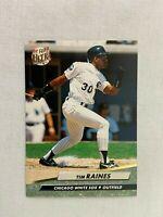 Tim Raines Chicago White Sox 1992 Fleer Baseball Card 43