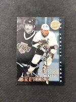1995-96 FLEER ULTRA WAYNE GRETZKY RARE PREMIER PIVOT GOLD MEDALLION #3