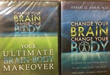 NEW Change Your Brain Change Your Body 2 DVD and 6 CD set Daniel G. Amen, MD
