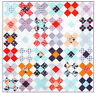PATTERN - King's Cross - quick & easy pieced quilt mini PATTERN - Creative Card