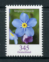 Germany 2017 MNH Flowers Definitives Pt III Forget-Me-Not 1v Set Nature Stamps