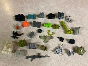 GIJOE COBRA Vintage 1982 - 1994  Figure Accessories Weapons Guns Parts LOT #5