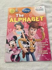 Disney Adventures in Learning The Alphabet workbook homeschool preschool