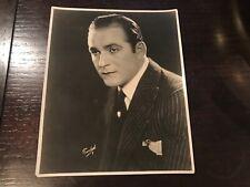 George Larkin Silent Film Actor 1918 Portrait 8x10 Photo. Rare.