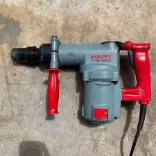Hilti Te 60 Vintage Hammer Drill With Case See Description