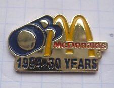 M / OB 30 JAHRE / OBERHAUSEN ..............Mc DONALD`s-Pin (148i)