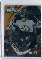 2002-03 Be A Player Signature Series Autographs Gold #82 Mika Noronen NM-MT Auto