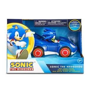"""NKOK 5.5"""" Sonic The Hedgehog, Pull Back Racer"""