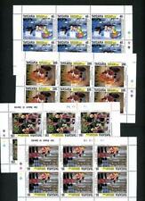 Tanzania 1992 Disney Scott# 1116-7,1121-2 sheets mint Nh