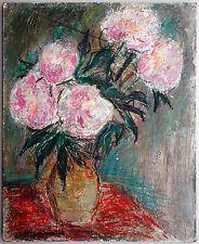 Constantin Terechkovitch (1902-1978): Stilleben mit Blumen in Vase, Ölgemälde
