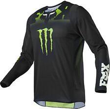 Fox 360 Monster Fahrerhemd Jersey schwarz mit grün