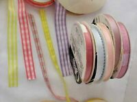 "American Crafts Ribbon Spools 15 yards /""Christmas Collection A/""  Save 85/%"