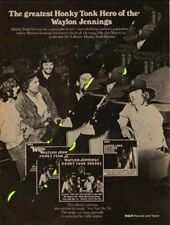 Waylon Jennings LP advert Creem magazine 1974