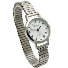 Ravel Ladies Super-Clear Quartz Watch with Expanding Bracelet sil #24 R0201.01.2