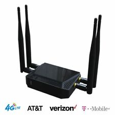 AT&T 4G LTE Router Unlocked SIM Card Slot T-Mobile 300Mbps Home Hotspot WiFi