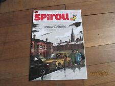 JOURNAL BD SPIROU 4008 fevrier 2015 + supplement abonne manuel de la jungle