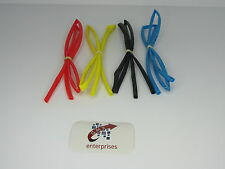 4 x 1 meter lenghts 5mm heat shrink  red .yellow.blue.black  heat shrink tubing
