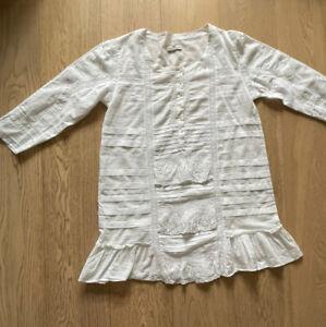 Day Birger et Mikkelsen beautiful white cotton top size 38