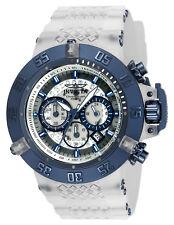 Invicta Men's 24363 Subaqua Quartz Multifunction White, Transparent Dial Watch