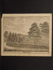 Ohio, Portage County Map, 1874, Engravings, Sears, Riedinger, Needham, J1#14