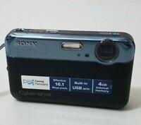 Sony Cyber-shot DSC-J10 16.1 MP Digital Camera - Black *fine/tested*